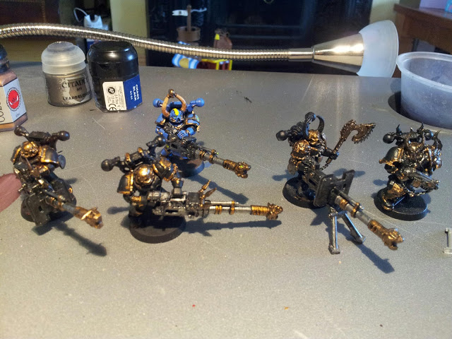 Warhammer 40K Thousand Sons 30: Havocs WIP