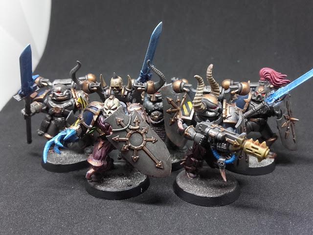 Iron Warriors: Kill Team Caedes.