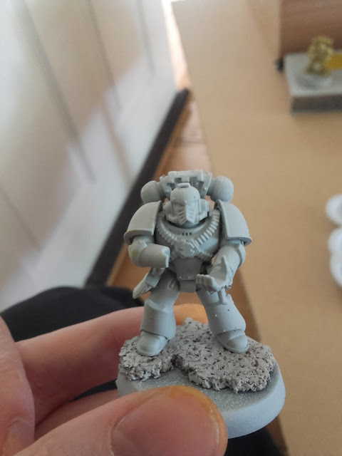 Imperial Fists - Test mini