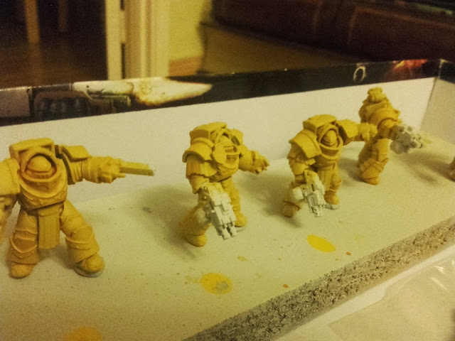 Imperial Fists - Terminators WiP