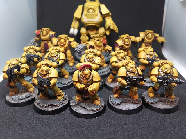 Imperial Fists: The Stone Gauntlet so far.