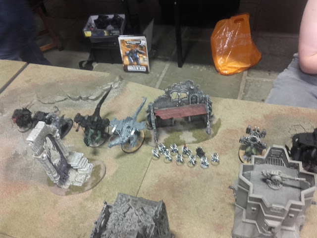 Warhammer 40K Battle report: Deployment from the SoB 2.