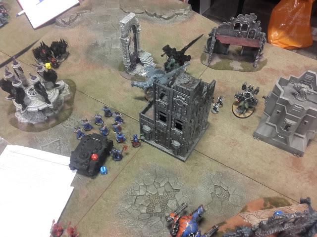 Warhammer 40K Battle report: My Thousand Sons were a bit ambitious.