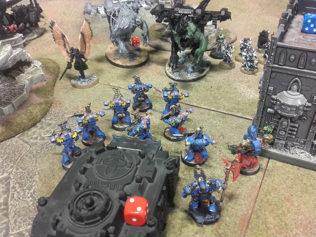 Warhammer 40K Battle report: This didn't go well for me.