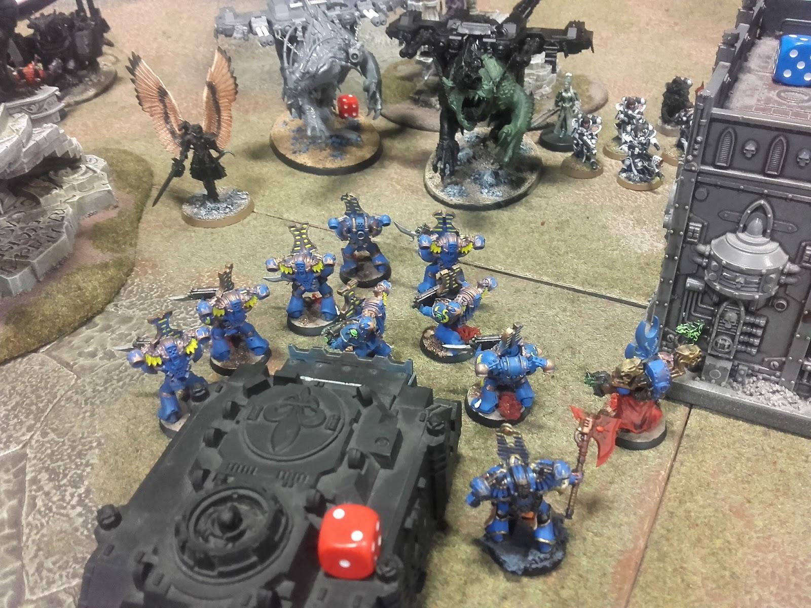 warhammer 40k battle report