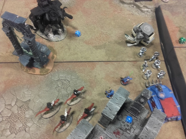 Warhammer 40K Battle report: After all that two survived!
