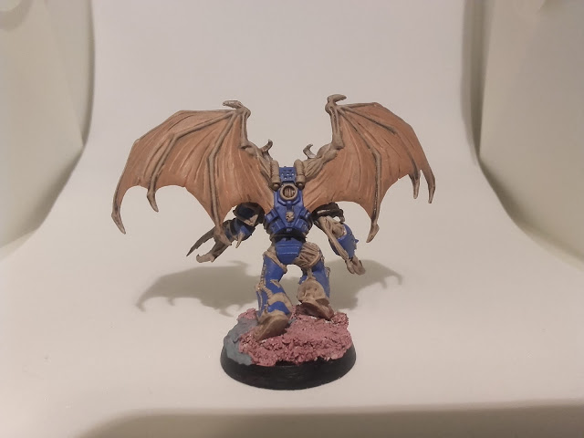 Cyclopia Cabal - Starting the test paint scheme 2.