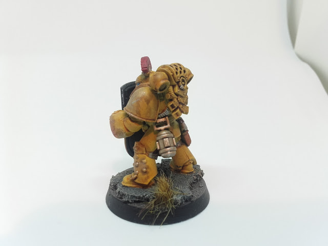 Imperial Fists Breacher Squad - Sarge