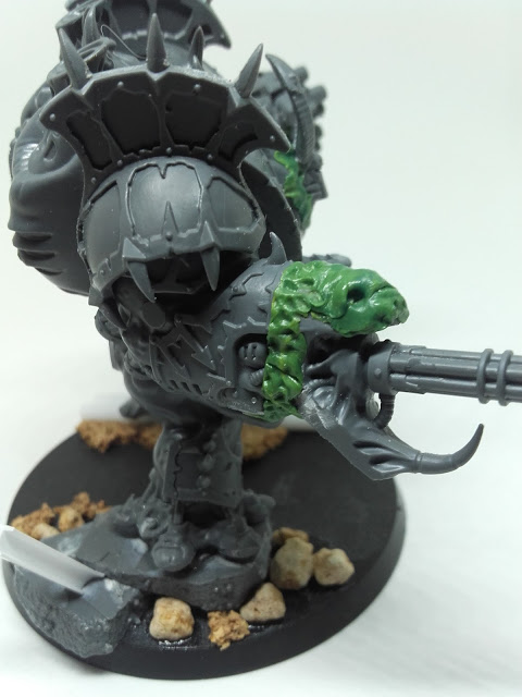Reaper Autocannon - snake face!