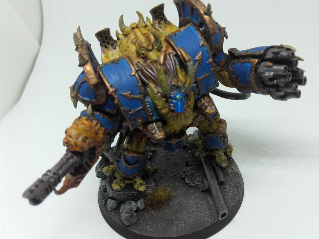 Thousand Sons Hellbrute - Snek Reaper Auto-cannon