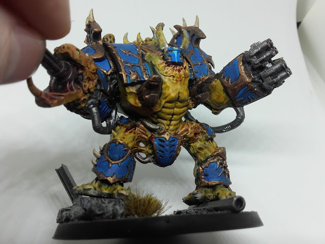 Thousand Sons Hellbrute - Missile Launcher and Reaper Auto-cannon