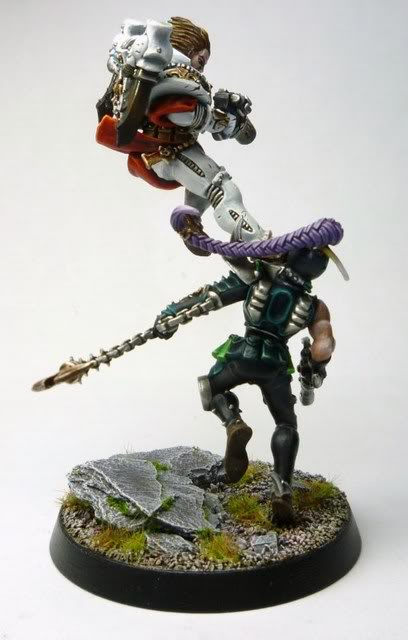 "Golden Demon 2012 Silver winner in the Duel category ""Hammer of Wrath!"""