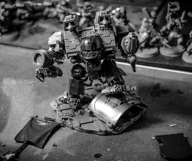 Yes that Iron Clad Dreadnought is looking at you.