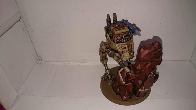 Genestealer Cult Sentinel - started showing its true colours.
