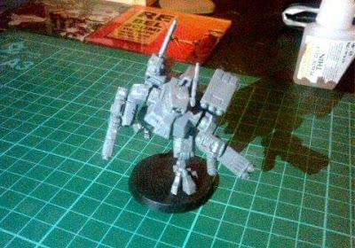 The first Tau Crisis Battlesuit of a new generation.