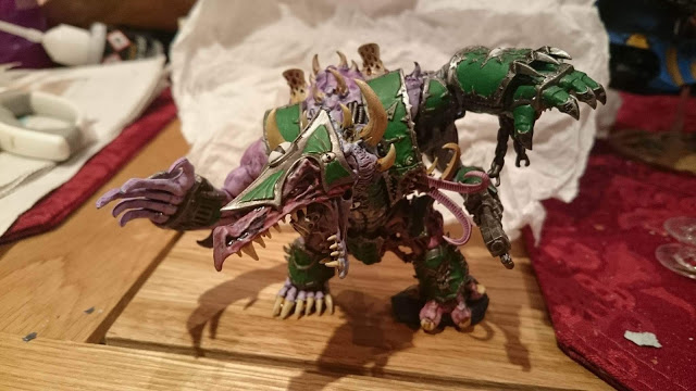 Final painted and inked Hellbrute.