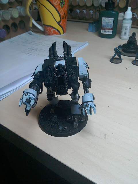 Penitent Engine - this is actually quick painting from Kirsten. ;)