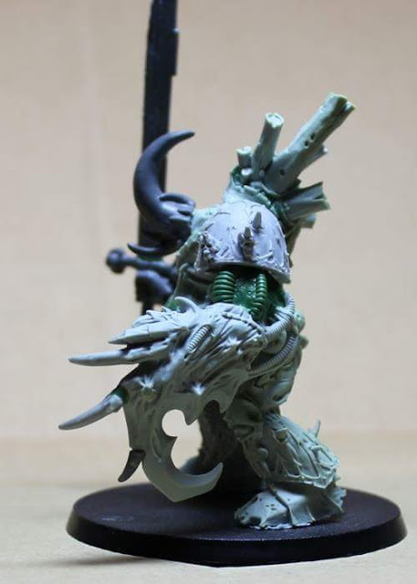 Yersinis, Demon Prince of Nurgle and a hook! Must be a pirate.