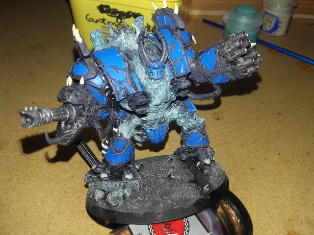 Thousand Sons Hellbrute - ghost skin failure.