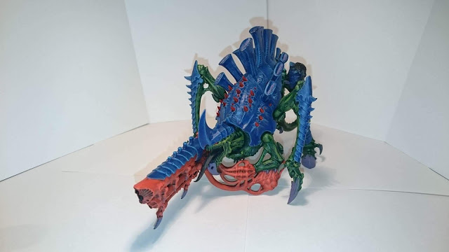 Tyrannofex - as they mature they grow red spikes...