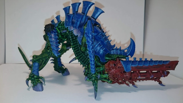 Early stage Tyrannofex