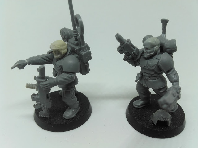Cadian Spec Ops - the Sarge and communications specialist.
