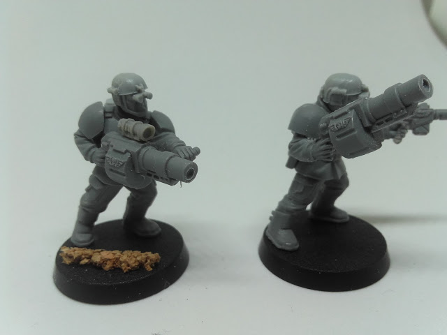 Cadian Spec Ops - the boomer brothers with their grenade launchers.