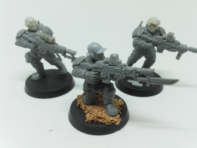 Cadian Spec Ops - lasrifle section one.