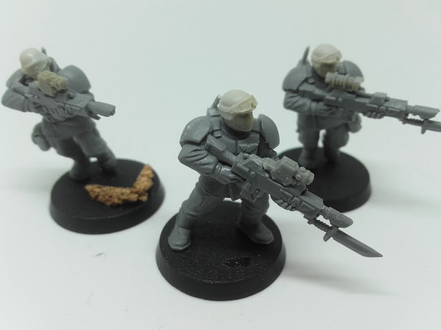 Cadian Spec Ops - lasrifle section two.