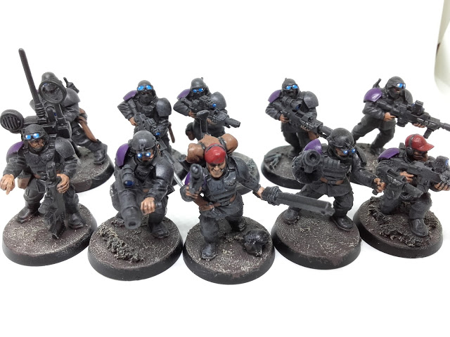 Cadian Special Ops: Alpha Team.