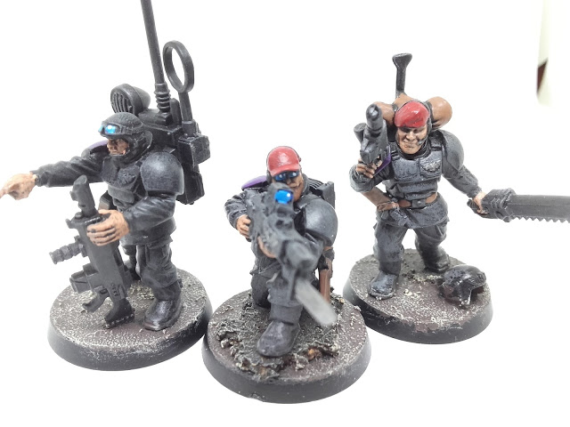 Cadian Special Ops: the old boys.