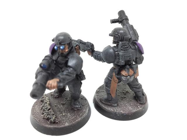 Cadian Special Ops: grenade launchers.