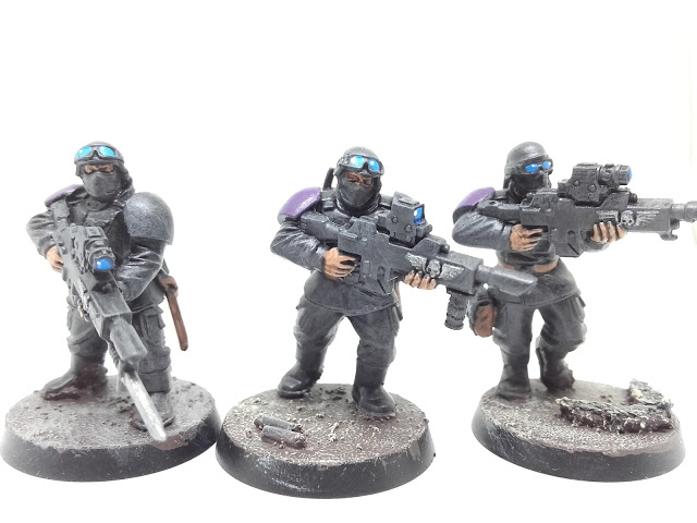 Cadian Special Ops: rifles ready!