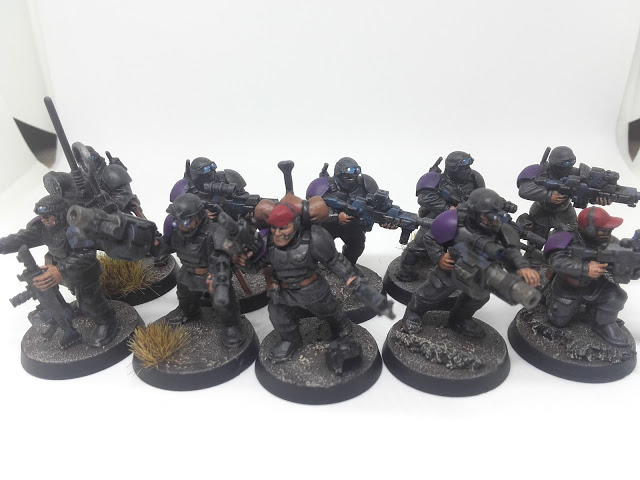 The full 10 man squad: Cadian Special Ops when you don't want to send anyone else!