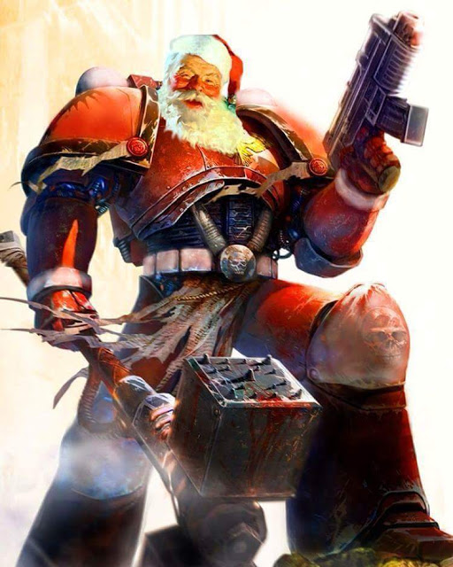 Space Marine Santa Claus