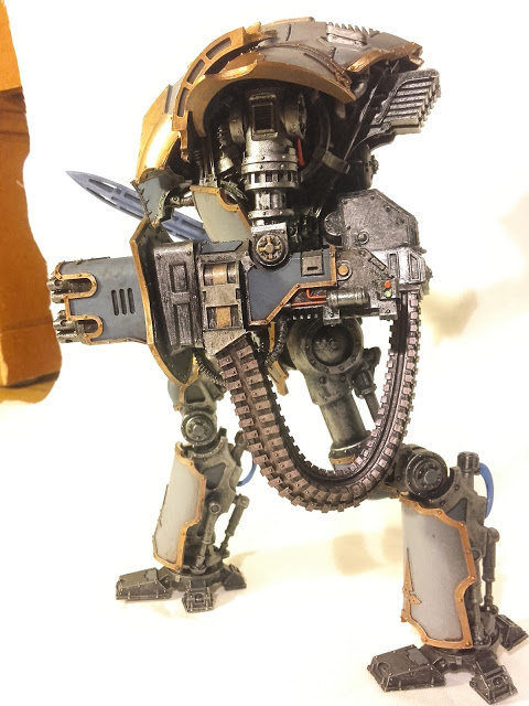 Cerastus Knight-Castigator: Dakka dakka dakka! I can't wait to unload the bolt cannon.