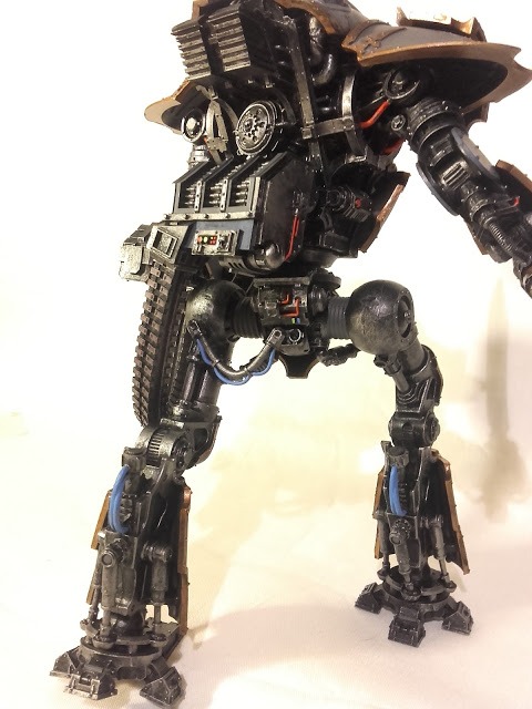Cerastus Knight-Castigator: Missing one cable on the right leg.