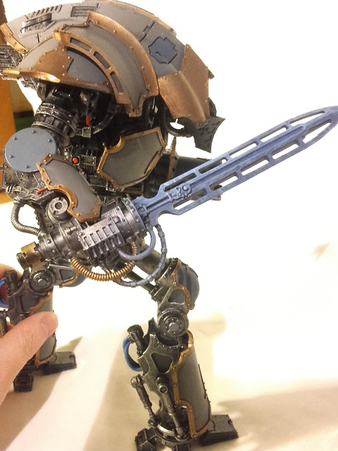 Cerastus Knight-Castigator: Tempest death sword, still needs something to bring it out.