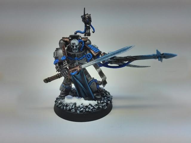 Chaos Space Marine Possessed Champion