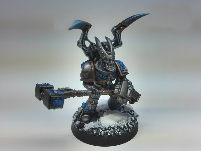 Chaos Space Marine Possessed with Thunder Hammer