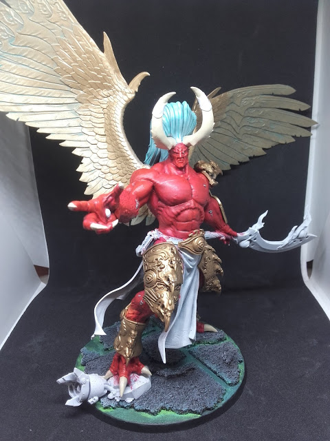 Magnus the Red: Starting to come together.