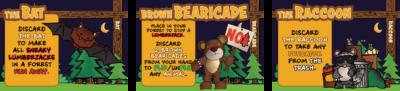 Peaceful protesting bear