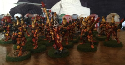 Fire Dragon Aspect Warriors