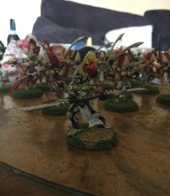 howling banshees exarch eldar aspect warriors