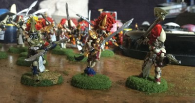 howling banshees exarchs eldar aspect warriors