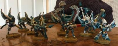 Rogue Trader Eldar Swooping Hawks
