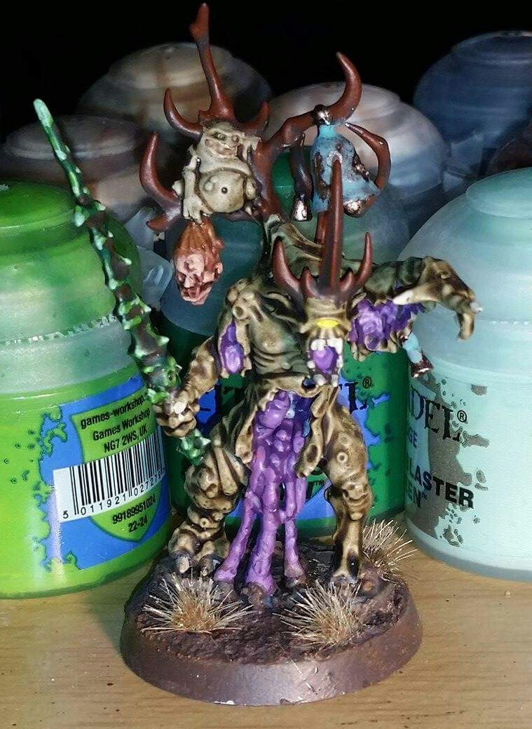 Nurgle demon herald