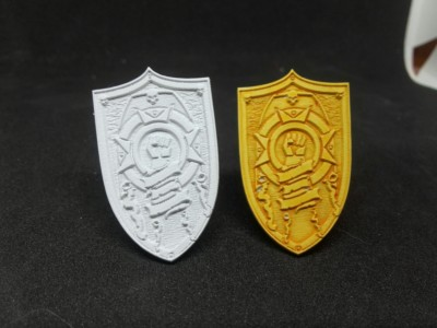 Legion specific custom shields for Terminators.