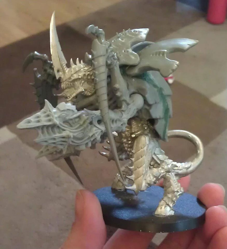 Winged Hive Tyrant WiP