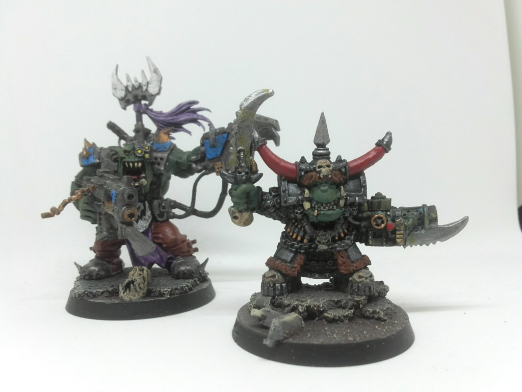 Original Ghazghkull Thraka and Black Reach warboss